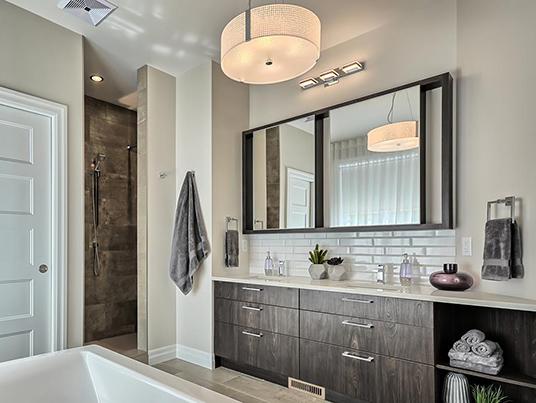 Salle de bain forêt laurentienne