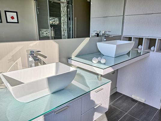 Salle de bain dans les îles
