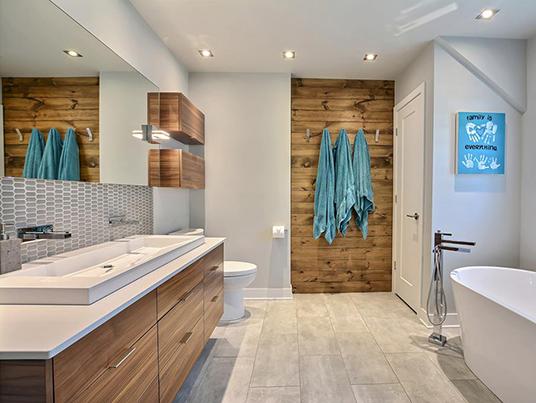 Salle de bain à la plage!