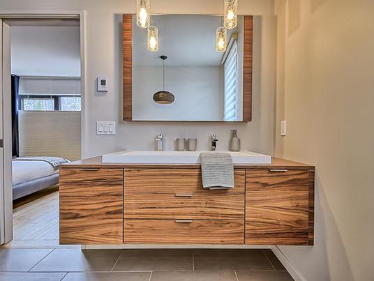 Salle de bain doux confort