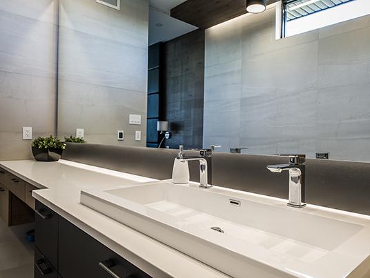 Salle de bain refuge